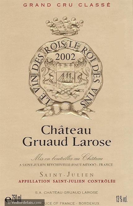 Château Gruaud Larose (Saint-Julien)