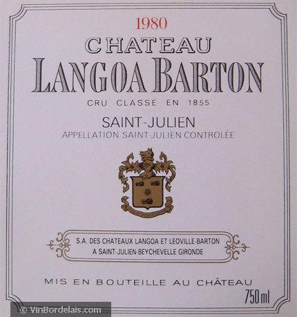 Château Langoa Barton (Saint-Julien)
