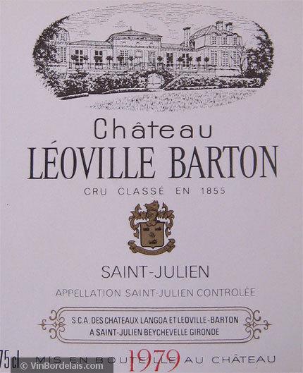 Château Léoville Barton (Saint-Julien)