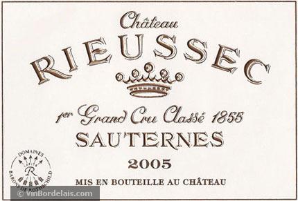 Château Rieussec (Sauternes)