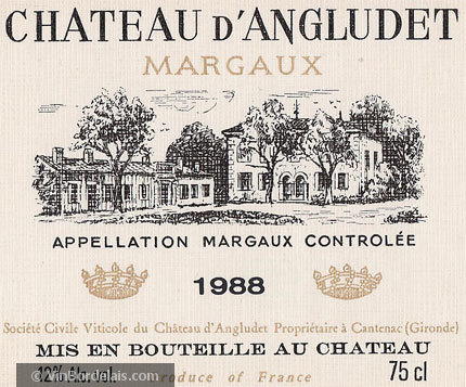 Château d'Angludet (Margaux)