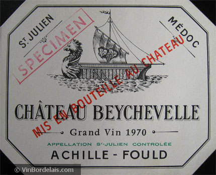 Château Beychevelle (Saint-Julien)