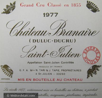 Château Branaire-Ducru (Saint-Julien)