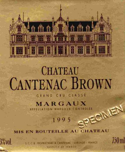 Château Cantenac Brown (Margaux)