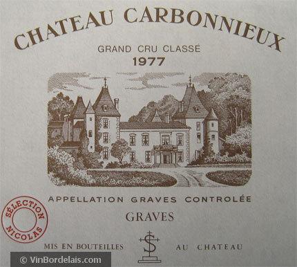 Château Carbonnieux (Pessac-Léognan)