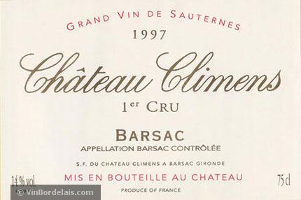 Château Climens (Barsac)