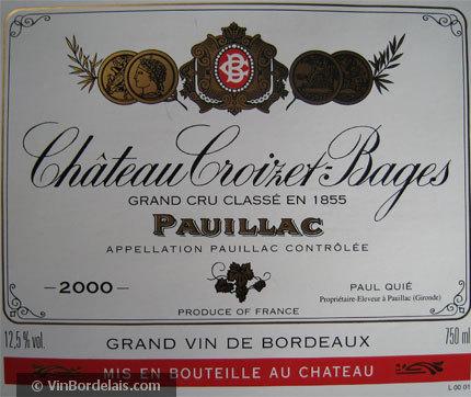 Château Croizet-Bages (Pauillac)
