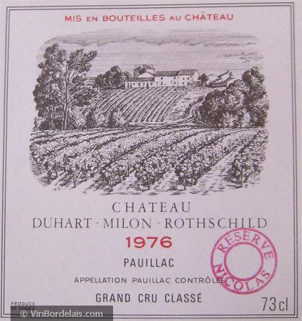Château Duhart-Milon (Pauillac)