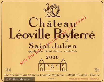 Château Léoville Poyferré (Saint-Julien)