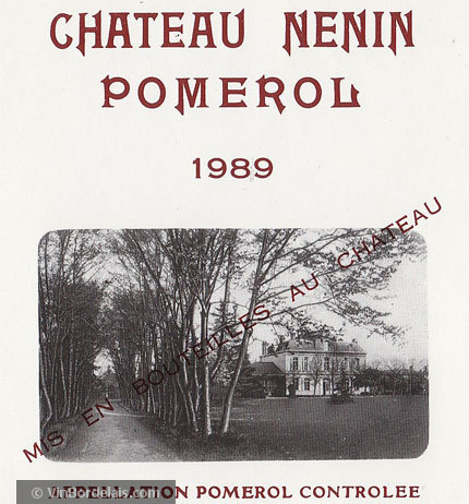 Château Nenin (Pomerol)