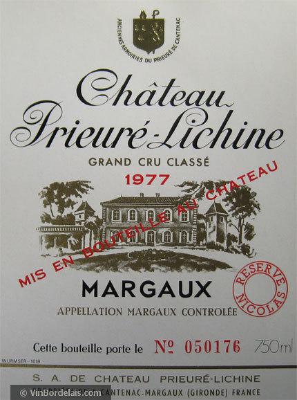 Château Prieuré-Lichine (Margaux)