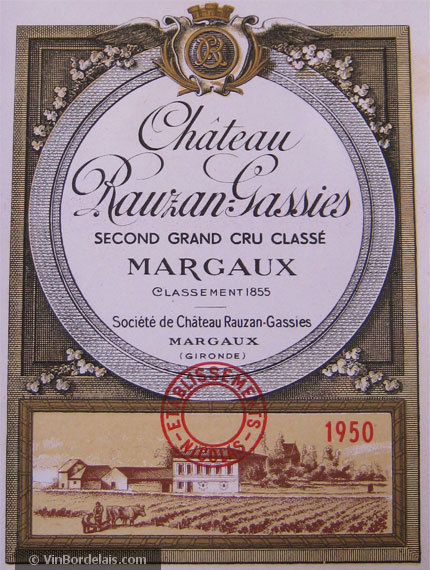 Château Rauzan-Gassies (Margaux)