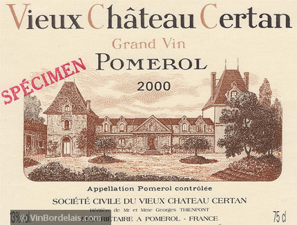 Vieux Château Certan (Pomerol)